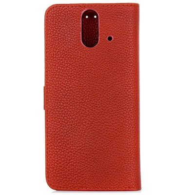 Гаджет   Litchi Veins PC and PU Stand Case with Card Holder for HTC E8 Other Cases/Covers