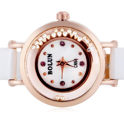 Unique Design Watch with Leather Band for WomenWomens Watches<br>Unique Design Watch with Leather Band for Women<br><br>Watches categories: Female table<br>Style : Fashion&amp;Casual<br>Movement type: Quartz watch<br>Shape of the dial: Round<br>Display type: Pointer<br>Case material: Stainless steel<br>Band material: Leather<br>Clasp type: Pin buckle<br>Water Resistance : Life waterproof<br>Special features: Small three stitches<br>The dial thickness: 0.8 cm / 0.3 inch<br>The dial diameter: 2.2 cm / 0.9 inch<br>The band width: 0.8 cm / 0.3 inch<br>Product weight: 0.013 kg<br>Product size (L x W x H) : 20.5 x 2.5 x 0.8 cm / 8.1 x 0.9 x 0.3 inches<br>Package contents: 1 x Watch