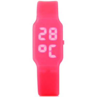 Гаджет   Multi - function LED Watch with USB Disk  and Rubber Watchband Sports Watches