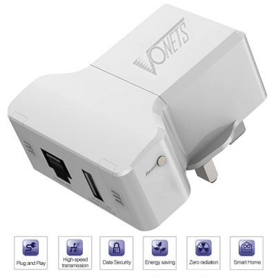 VONETS VRP300 3G 300Mbps Multi - function Wireless Repeater for Smart Phone Notebook