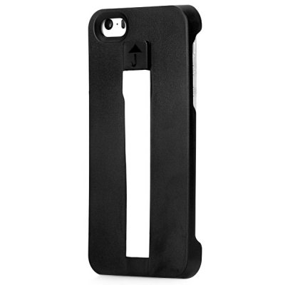Foldable 8 Pin Charger Cable Plastic Back Cover Case for iPhone 5 5S 5C