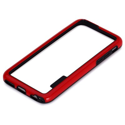 Гаджет   Clear Frame Design TPU Contrast Color Protective Bumper Case for iPhone 6