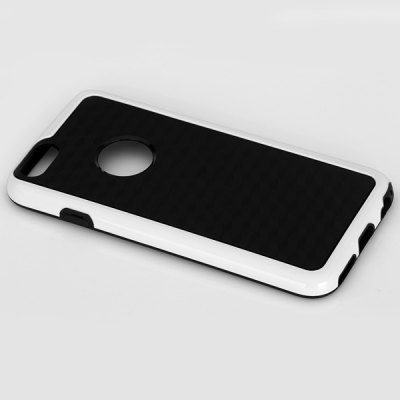 ФОТО Brief Design TPU Material Contrast Color Protective Back Cover Case for iPhone 6