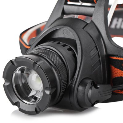 800 Lumens Cree XM - L2 LED Highlight 2 - mode Headlight (1 or 2 x 18650 Battery)
