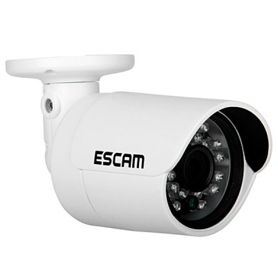 Гаджет   ESCAM QD310 3.6mm Lens 1/4 inch 1MP Progressive CMOS Goblet Camera with 24pcs 5mm Diameter IR Leds and 15m Range Support Day and Night IP Cameras