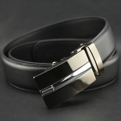 Гаджет   Hot Sale Number 5 Pattern Automatic Buckle Faux Leather Belt For Men