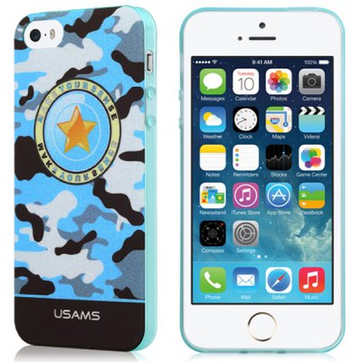 USAMS Camo Series Protective Back Cover Case for iPhone 5 5S