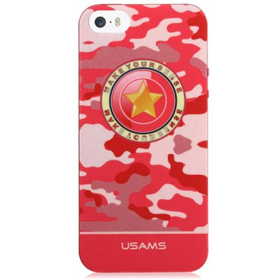 Гаджет   USAMS Camo Series Soft Star Pattern TPU Material Fluorescent Protective Back Cover Case for iPhone 5 5S iPhone Cases/Covers