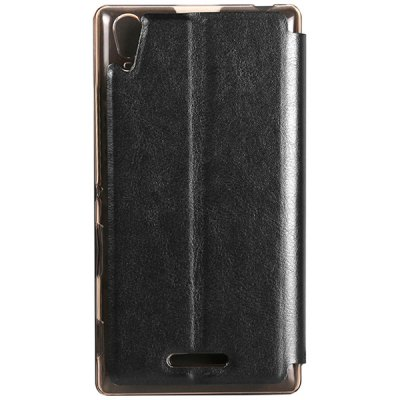 ФОТО USAMS Merry Series Comfortable Polycarbonate and Artificial Leather Protective Cover Case with Sleep Function for Sony Xperia T3 M50W