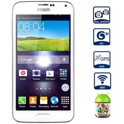 SM - N9700 Android 4.4 3G Phablet with 5.0 inch WVGA Screen MTK6582 1.3GHz Quad Core 4GB ROM GPS Dual Cameras