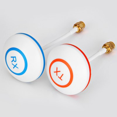 Гаджет   The Latest 5.8GHz Circular Hudcolor Polarized Mushroom Straight SMA Plug Antenna with SWR Lower Than 1.5 for RC Helicopter
