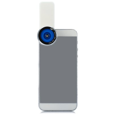 Devil's Eye Fisheye Lens with Clip for iPhone iPad Samsung and A Variety of Smart Phone