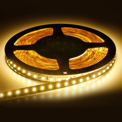 5M 18W 300-SMD-3528 LED 1200LM Warm White Non-waterproof LED Strip Light