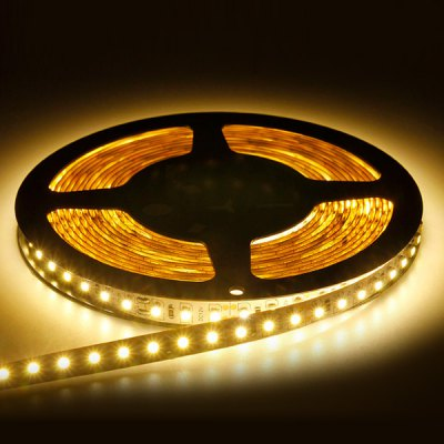 5M 36W 600-SMD-3528 LED 2400LM LED Warm White Non-waterproof Strip Light