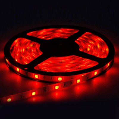 5M 27W 150-SMD-5050 LED 1800LM Waterproof LED Red Strip Light