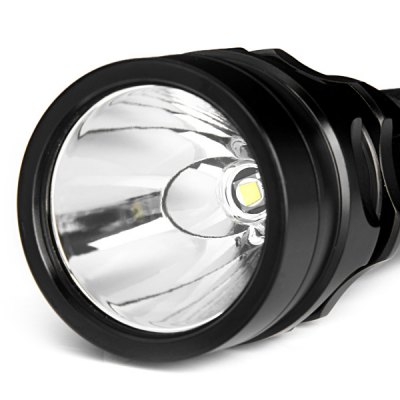 Cree XML - T6 800LM Waterproof White Light Dimmable LED Flashlight Diving Torch (1 x 18650 Battery)