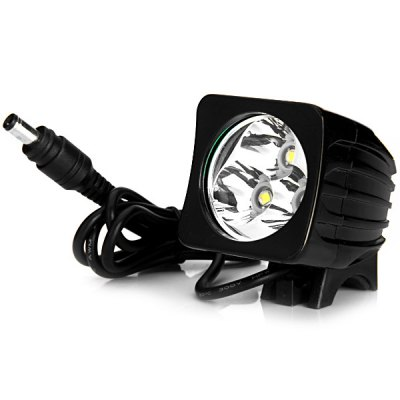 Гаджет   1800LM 3 x Cree XML - T6 18650 Rechargeable LED Square Bicycle Headlight with 4 Adjustable Modes