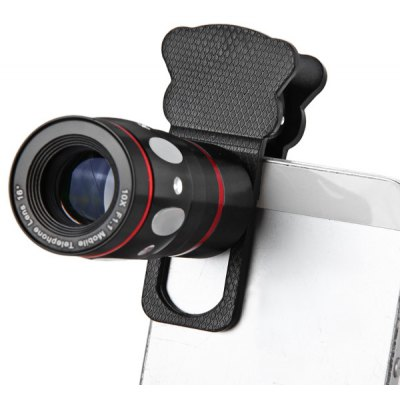 Fashionable 4 in 1 Cat Style Clamp Camera Lens including Fisheye Telephoto Macro and Wide Angle