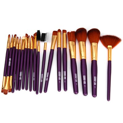 19Pcs Professional Synthetic Makeup Brush Sets with Bronzer Brush Powder BrushMakeup Brushes &amp; Tools<br>19Pcs Professional Synthetic Makeup Brush Sets with Bronzer Brush Powder Brush<br><br>Brush hair: Pony Brush<br>Color: Pink,White<br>Features: Lightweight, Soft, Charming Colors, Easy to Carry, Environment Friendly<br>Functions: Comestic for Party<br>Material: Plastic, Others<br>Package Contents: 19 x Brush<br>Package size (L x W x H): 17.00 x 16.00 x 3.00 cm / 6.69 x 6.3 x 1.18 inches<br>Package weight: 0.160 kg<br>Style: Others