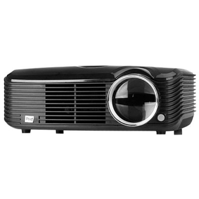STA - ProHome PH5 2500 Lumens LED Projector 360 Degree Flip with HDMI USB Inputs US Plug