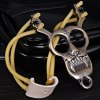 best Tiger Design Stainless Steel Slingshot Special for Athletics and Competition