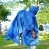 Multi - function Outdoor Raincoat Poncho for Fishing Hiking Camping Mountaineering Tourism