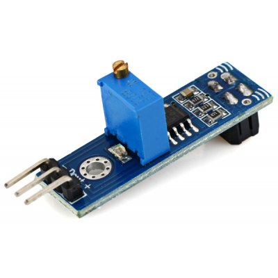 I081206 DIY IR Infrared Reflection Sensor Module with DC 3 -  5V Working Voltage