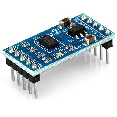bildr Sensing Orientation With The ADXL335 Arduino