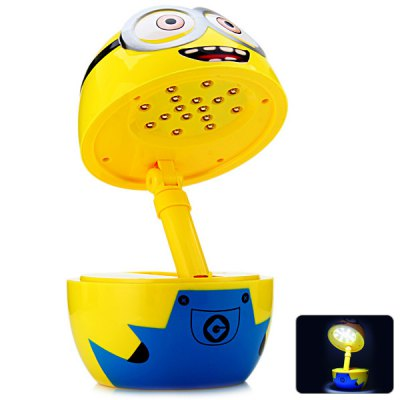 Foldable 16 LEDs Bee-do Shape LED Lamp with 3 Switchable Modes