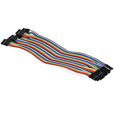 4 - Pin Female to Female DuPont Cable (10pcs 20cm)Other Accessories<br>4 - Pin Female to Female DuPont Cable (10pcs 20cm)<br><br>Type: Connection Cable<br>Compatibility: Ardunio<br>Product Weight: 0.034 kg<br>Package Weight: 0.100 kg<br>Product Size(L x W x H): 20.0 x 5.5 x 0.3 cm / 7.8 x 2.0 x 0.1 inches<br>Package Size(L x W x H): 11.0 x 6.0 x 4.0 cm<br>Package Contents: 10 x Dupont Cable