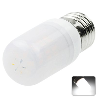 Sencart E27 42-LED 5730-SMD 8W AC 12 - 16V White LED Frosted Bulb Light