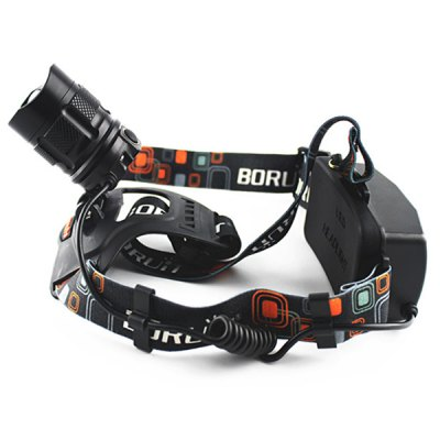 072 Cree XML T6 1200Lm LED HeadlampHeadlights<br>072 Cree XML T6 1200Lm LED Headlamp<br><br>Model: 072<br>Function: Hunting, Exploring, Camping, Household Use, Hiking, EDC, Walking, Night Riding<br>Feature: Can be used as headlamp or bicycle light<br>Luminous Flux: 1200Lm<br>Main Lamp Beads: XM-L T6<br>Beads Number: 1 x Cree XML T6<br>Mode: 5 (High &gt; Mid &gt; Low &gt; Strobe &gt; SOS)<br>Switch Location: Head<br>Battery type: 18650<br>Battery  : 2 x 18650 battery (Not Included)<br>Power source: Battery<br>Reflector: Aluminum smooth reflector<br>Lens: Plastic Lens<br>Available Light Color: White<br>Color: Black<br>Product weight: 0.290 kg<br>Package weight: 0.400 kg<br>Product size (L x W x H): 6.0 x 4.0 x 4.0 cm / 2.4 x 1.6 x 1.6 inches<br>Package size (L x W x H): 25.0 x 9.0 x 9.0 cm<br>Package Contents: 1 x LED Headlight