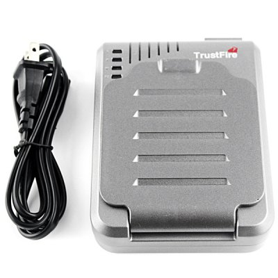 TrustFire TR - 003 4 - Slot Multi - functional Battery Charger with US Adapter Suitable for 10430 / 10440 / 14500 / 16340 / 17670 / 18500 / 18650 Lithium Battery от GearBest.com INT