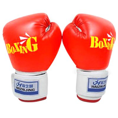 Breathability Teenagers Boxing Gloves with Safety Design for 10~16 Years Old Children