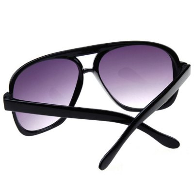 Фотография Oulaiou 9827 Retro Sunglasses with UV Prevention and Full - rim Double Beam for Men and Women