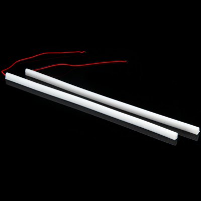 Гаджет   DC12V 30CM 30 3014 - SMD LEDs Red Decorative Daytime Running Light  -  2PCS LED Strips