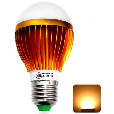 E27 12W 24 5630-SMD LEDs 3000K Golden Bulb Light