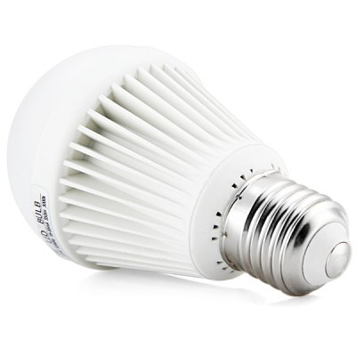 E27 5W 350LM Energy Saving Plastic 3000K LED Globe Bulb Light (Vertical Stripe)LED Light Bulbs<br>E27 5W 350LM Energy Saving Plastic 3000K LED Globe Bulb Light (Vertical Stripe)<br><br>Base Type: E27<br>Type: Ball Bulbs<br>Output Power: 5W<br>Lumen(s): 350LM<br>Voltage (V): AC 100-240V<br>Appearance: Vertical Stripe<br>Features: Energy Saving, Low Power Consumption, Long Life Expectancy<br>Function: Home Lighting, Commercial Lighting, Studio and Exhibition Lighting<br>Available Light Color: Cold White, Warm White<br>Sheathing Material: Plastic, Glass<br>Product Weight: 0.088 kg<br>Package Weight: 0.17 kg<br>Product Size (L x W x H): 9.7 x 4.5 x 4.5 cm / 3.82 x 1.77 x 1.77 inches<br>Package Size (L x W x H): 12 x 7 x 7 cm<br>Package Contents: 1 x Bulb Light