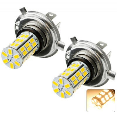 Sencart H4 SMD 5730 42 LEDs 20W 3000 - 3500K Warm White Light Car Headlight Fog Light 1500LM DC 12  -  16V (2 pcs)