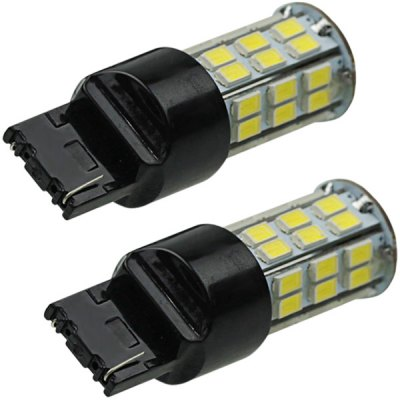 Sencart T20 7440 SMD 5730 42 LEDs 20W White Light Car Turn Signal Tail Light 1500LM DC 12  -  16V (2 pcs)Car Lights<br>Sencart T20 7440 SMD 5730 42 LEDs 20W White Light Car Turn Signal Tail Light 1500LM DC 12  -  16V (2 pcs)<br><br>Brand: Sencart<br>Type   : Brake Lights, Rear Lights, Rear Turn Signal<br>Connector: 7440<br>LED type: SMD 5730<br>LED/Bulb quantity: 42<br>Emitting color : White<br>Voltage : 12-16V<br>Power : 20W<br>Lumens: 1500lm<br>Type of lamp-house : LED<br>Apply lamp position: External Lights<br>Product weight   : 0.024 kg<br>Package weight   : 0.080 kg<br>Product size (L x W x H)  : 5.5 x 2.3 x 1.9 cm / 2.2 x 0.9 x 0.7 inches<br>Package size (L x W x H)  : 10.0 x 6.0 x 3.0 cm<br>Package Contents: 2 x LED Lamp