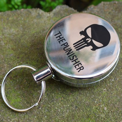 Spring Telescopic Hung Keychain for Camping Hiking Everyday Use