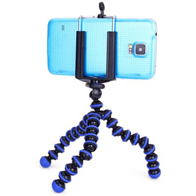 Гаджет   Flexible Tripod Octopus Stand and Mount Adapter Telescopic Cell Phone Clip Holder iPhone Mounts & Holders