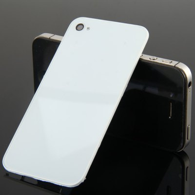 Practical Replacement Back Glass Rear Battery Cover Door for iPhone 4 with Tools