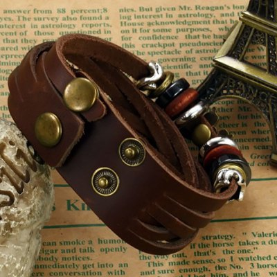 Фотография Fashion Butterfly Multielement Layered Link Bracelet For Men