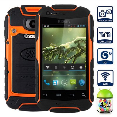 V5+ Android 4.2 3G Smartphone with 3.5 inch HVGA Screen MTK6572 1.0GHz Dual Core