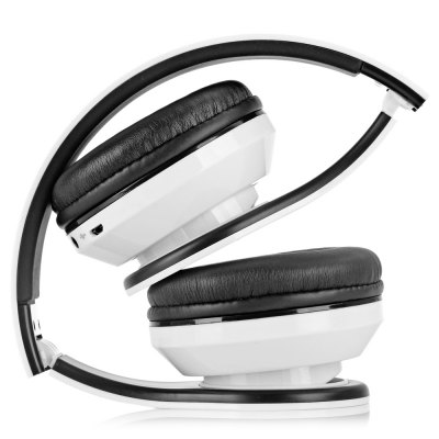 Гаджет   AIAT AT - BT809 Foldable Hands Free Headset Music Headphone with Mic FM Radio Support TF Card Headsets