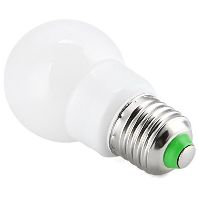 E27 3W 25 2835 - SMD LEDs 200LM Energy Saving Milky Bulb Light ( 6000  -  6500K 200  -  240V )LED Light Bulbs<br>E27 3W 25 2835 - SMD LEDs 200LM Energy Saving Milky Bulb Light ( 6000  -  6500K 200  -  240V )<br><br>Base Type: E27<br>Type: Ball Bulbs<br>Output Power: 3W<br>Emitter Type: SMD-2835 LED<br>Total Emitters: 25 LEDs<br>Actual Lumen(s): 200LM<br>Voltage (V): AC 200-240V<br>Features: Energy Saving, Low Power Consumption, Long Life Expectancy<br>Function: Studio and Exhibition Lighting, Home Lighting, Commercial Lighting<br>Available Light Color: Warm White, Cold White<br>Sheathing Material: Plastic<br>Product Weight: 0.031 kg<br>Package Weight: 0.09 kg<br>Product Size (L x W x H): 4.5 x 4.5 x 8.5 cm / 1.77 x 1.77 x 3.46 inches<br>Package Size (L x W x H): 10.5 x 6 x 6 cm<br>Package Contents: 1 x Bulb Light