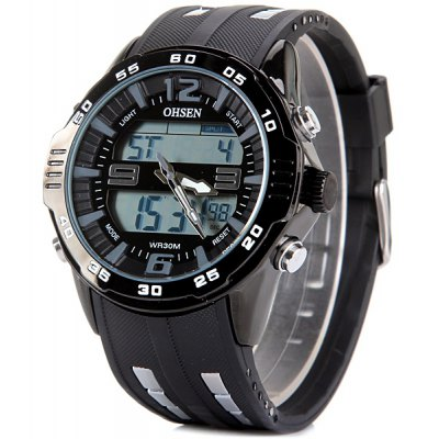 OHSEN AD2813 Sports and LED Watch