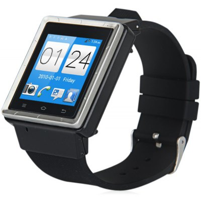 ZGPAX S6 Android 4.4 3G Smart Watch 1.0GHz MTK6572 Dual Core 4GB ROM Bluetooth Camera en Gearbest