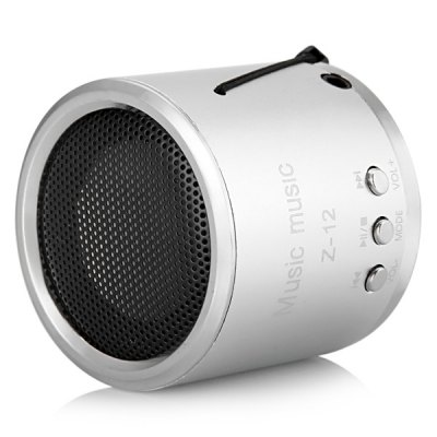 Гаджет   Z - 12 Hi - Fi Loud Speaker Built - in FM Radio with 3.5mm Jack Speakers